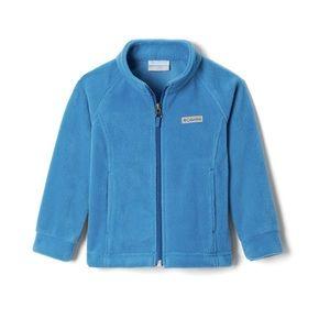 Baby Columbia Jacket Blue Soft Fleece Zip Up NWT